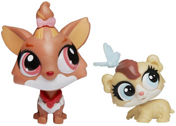 Littlest Pet Shop Yorkie And Hamster