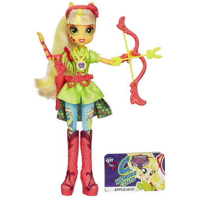 Rgc Redmond My Little Pony Equestria Girls Applejack Sporty Style Archery Doll