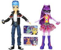 Rgc Redmond My Little Pony Equestria Girls Flash Sentry and Twilight Sparkle 2-Pack