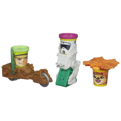 Play-Doh Star Wars Mission on Endor Featuring Can-Heads