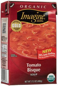 Imagine Foods Organic Soup Tomato Bisque 17.3 fl oz