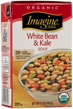 Imagine Foods - Organic White Bean & Kale Soup - 17 oz.