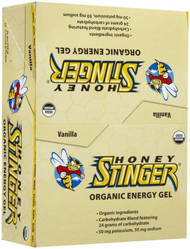 Honey Stinger Organic Energy Gels - 24-Pack Vanilla, One Size
