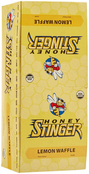 Ener-g Foods Honey Stinger Lemon Organic Stinger Waffle