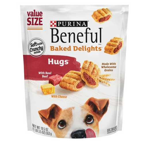 Beneful Dog Treat Baked Delights® Hugs
