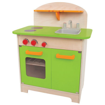 Hape Collection Gourmet Play Kitchen - Green