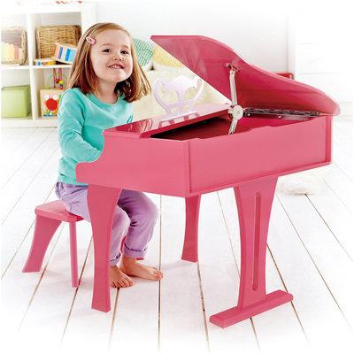 Hape International HaPe Toys E0319 Happy Grand Piano Pink