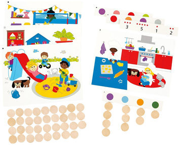 Hape Find And Count Colors - 1 ct.