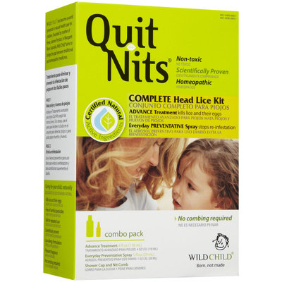 Wild Child Quit Nits Complete Lice Kit, Hylands (Hyland's)