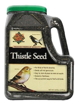 Mills Brothers Premium Thistle Seed in Easy Pour & Store Container