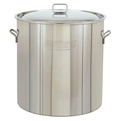 Bayou Classic 1082, 82qt Stainless Fryer/Steamer w/ Vented Lid