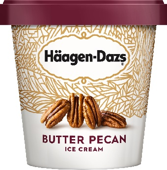Haagen-Dazs Butter Pecan Ice Cream