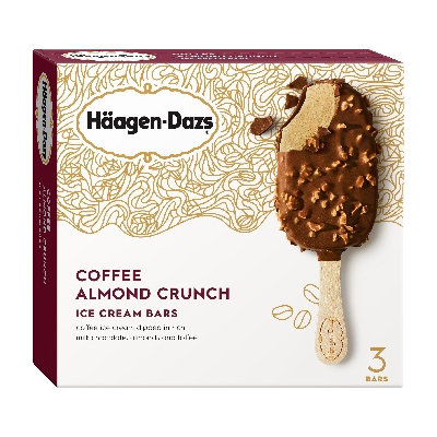 Haagen-Dazs Coffee Almond Crunch Ice Cream Bar