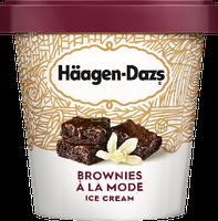 Haagen-Dazs Destination Series Brownies a la Mode Ice Cream