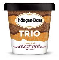 Haagen-Dazs Trio Salted Caramel Chocolate Ice Cream