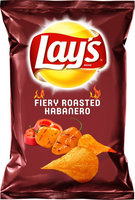 LAY'S® Fiery Roasted Habanero Potato Chips