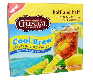 Celestial Seasonings® Half and Half Cool Brew Iced Black Tea and Lemonade