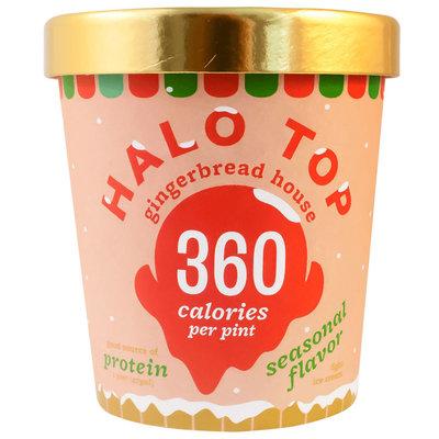 Halo Top Gingerbread House Ice Cream