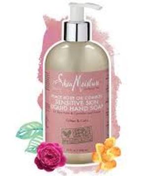 SheaMoisture Peace Rose Oil Complex Sensitive Liquid Hand Soap