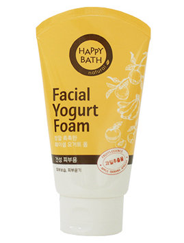Happy Bath Natural Facial Yogurt Foam - Fruit Essence
