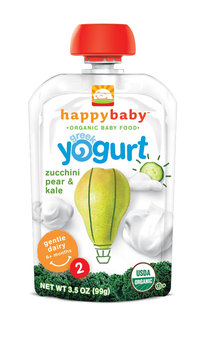Happy Baby® Organics Greek Yogurt Zucchini Pear & Kale