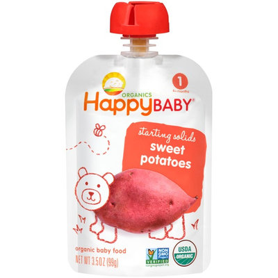 Happy Baby® Organics Starting Solids Sweet Potatoes Baby Food