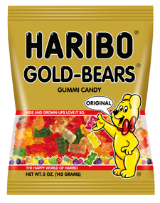 HARIBO Gold Bears Gummi Candy