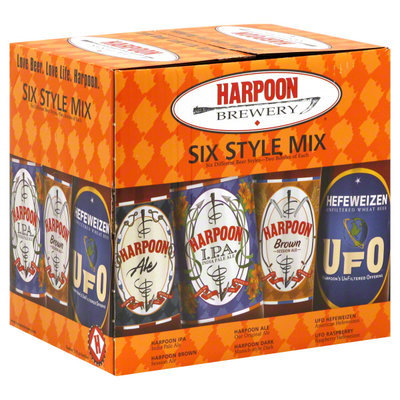 Harpoon Beer Six Style Mix