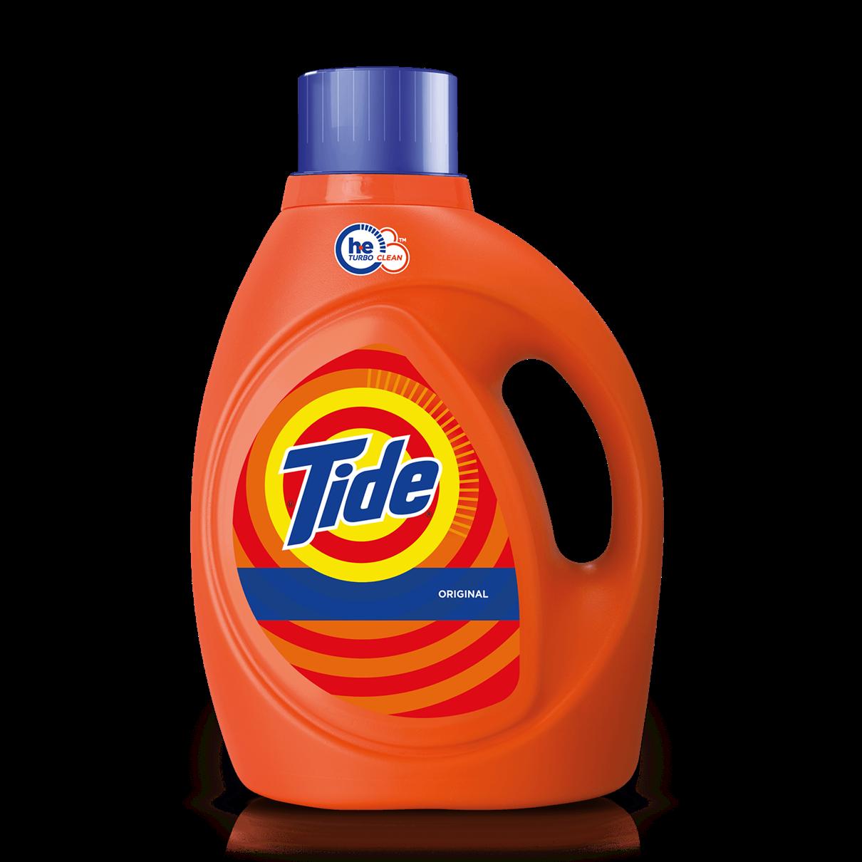 Tide Original Scent HE Turbo Clean Liquid Laundry Detergent
