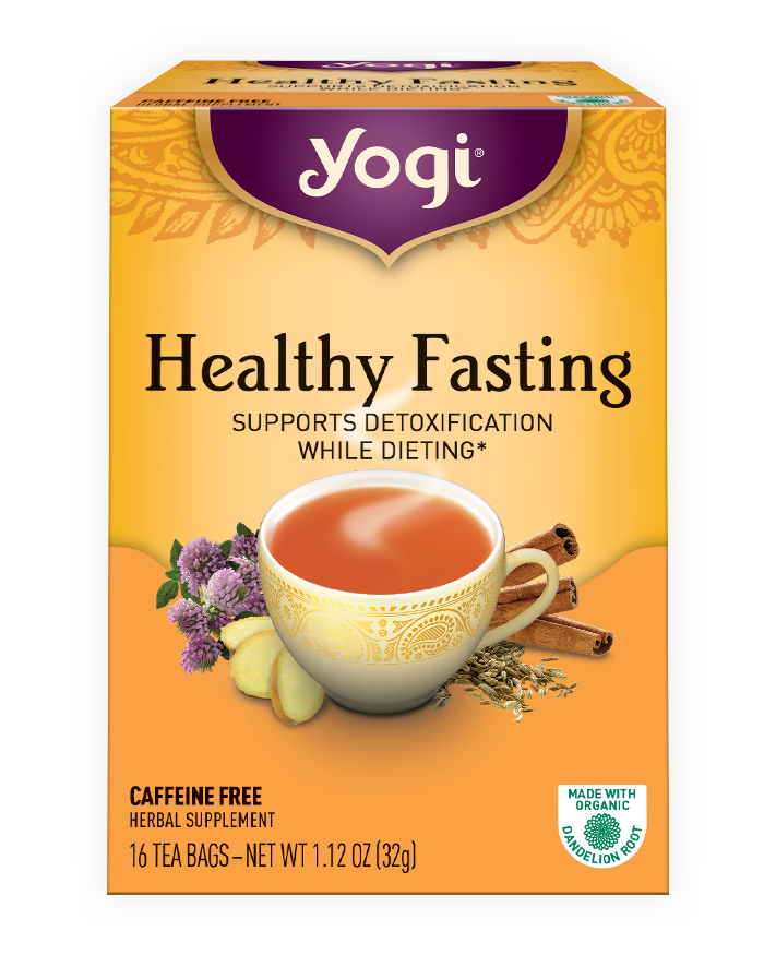 Yogi Tea Healthy Fasting