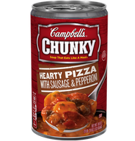 Campbell's® Chunky Hearty Pizza with Sausage & Pepperoni