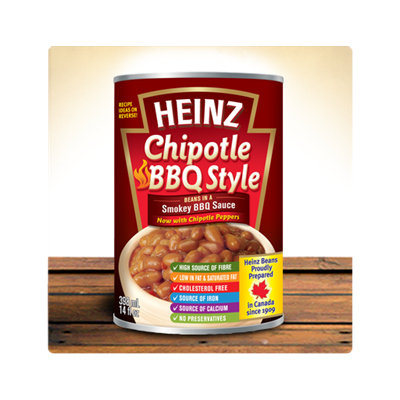 Heinz® Chipotle BBQ Style Beans