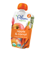 Plum Organics Second Blends Apple & Carrot