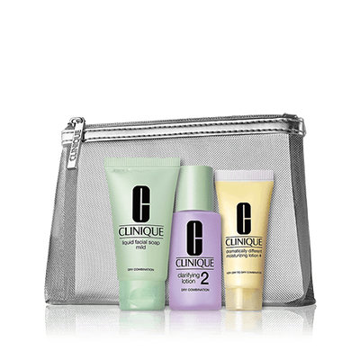Clinique Hello, Great Skincare Set, for Skin Types 1/2