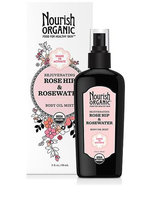 Nourish Organic™ Rejuvenating Rose Hip and Rosewater Body Oil Mist