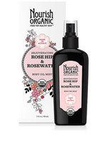 Nourish Organic™ Rejuvenating Rose Hip and Rosewater Body Oil Mist