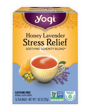 Yogi Honey Lavender Stress Relief Tea Bags