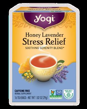 Yogi Honey Lavender Stress Relief Tea Bags
