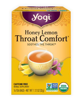 Yogi Tea Honey Lemon Throat Comfort®