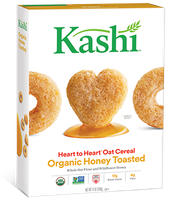 Kashi® Heart To Heart Honey Toasted Oat Cereal
