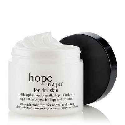 philosophy hope in a jar extra-rich moisturizer for normal to dry skin