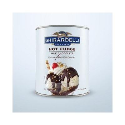 Ghirardelli Hot Fudge Sauce Can Desserts & Ice Cream