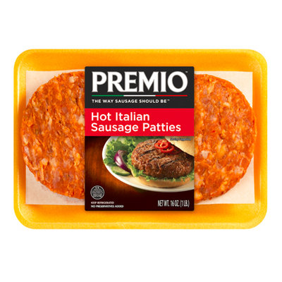 Premio™ Hot Italian Sausage Patties