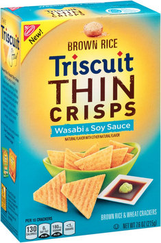Nabisco Triscuit - Crackers Thin C - Brown Rice & Wheat Wasabi & Soy Sauce