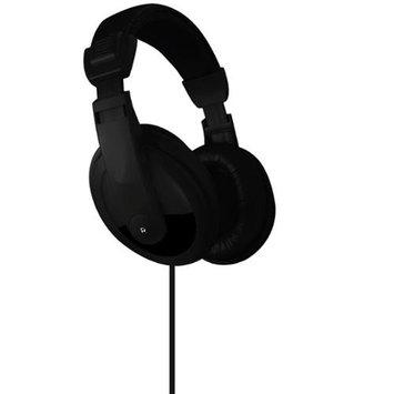 Dgl DJ Style Over-Ear Stereo Headphones-Black