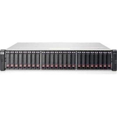 Hewlett Packard Hp 1040 San Array - 6GB/s Sas Controller - 24 X Total Bays - Gigabit Ethernet - Iscsi - 2u Rack-mountable (e7w02sb)