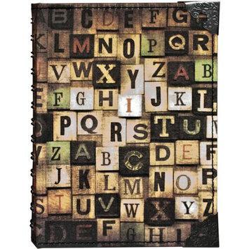 Tim Holtz Idea-Ology District Market Spiral Journal 80 Pages - Alphabetical