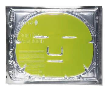 100% Pure Green Tea Water Bomb Mask
