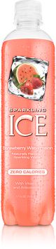 Sparkling ICE Waters - Strawberry Watermelon