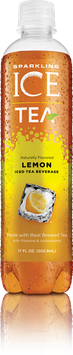 Sparkling ICED Teas - Lemon
